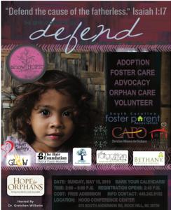 Defend Conference Flyer