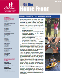 2016 7 Newsletter Cover
